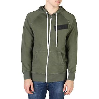 Diesel Original Men All Year Sweatshirt - Green Color 55119
