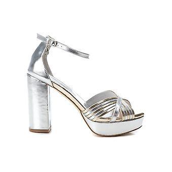 Xti - shoes - sandal - 35037_SILVER - ladies - silver, gold - EU 40