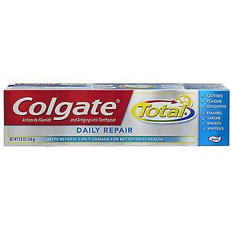 Colgate total daily repair anticavity fluoride toothpaste, 4 oz