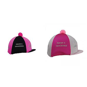HyFashion Girls Equestrian Ponies And Princesses Hat Cover
