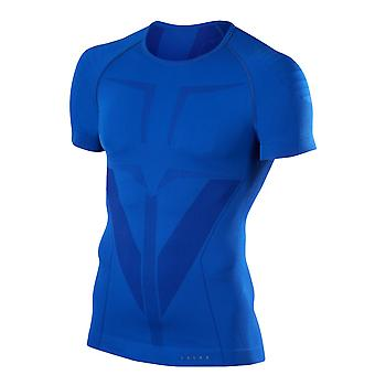 T-shirt compressie de running Falke H T-shirt warme Bleu