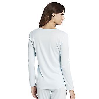 R-sch 1193759-12604 Camiseta de Pijama de Algodón Azul Glaciar Puro