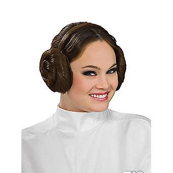 Rubie's Women's Star Wars Princess Leia Headband, Brown, One Size