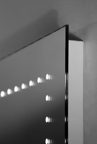 Ultra-Slim Mirror with UnderLighting, Bluetooth,Demist&Sensor k36waud