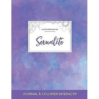 Journal de coloration adulte Sexualit Illustrations de nature Brume violette by Wegner & Courtney