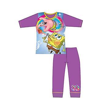 Spongebob Squarepants Girls Bubbles Pyjama Set