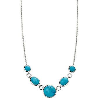 Beginnings Statement Necklace - Turquoise
