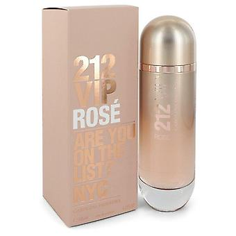 212 Vip rose eau de parfum spray par carolina herrera 550576 125 ml