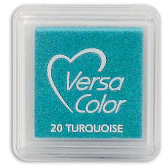 Versasmall Turquoise Pigment Small Ink Pad - Pigment Ink - Craft Ink