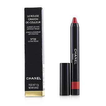 Le rouge crayon de couleur jumbo longwear lip crayon   # 20 ultra rose 1.2g/0.04oz