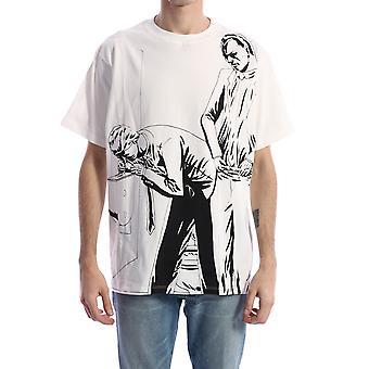 424 80190599150 Men's White Cotton T-shirt