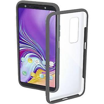 Hama Cover Frame Back Abdeckung Samsung Galaxy A7 Grau (transparent)