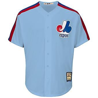 Majestic Cooperstown Cool Base Jersey - Montreal Expos