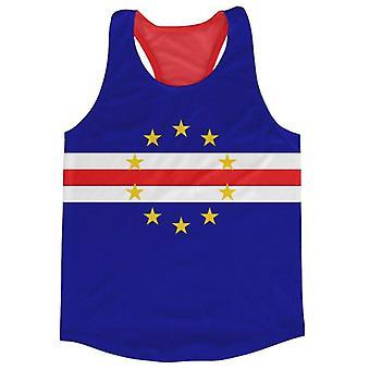 Cape Verde Flag Running Vest