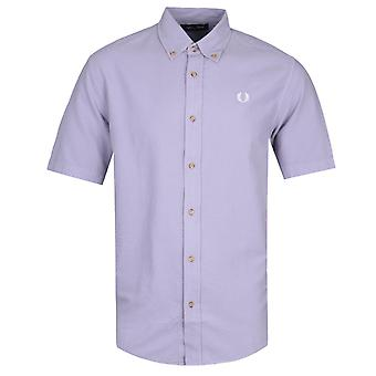 Fred Perry Overdyed Lys Lilla Skjorte
