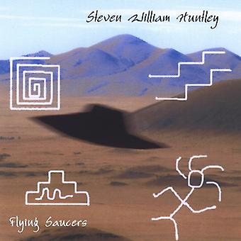 Steven William Huntley - Flying Saucers [CD] USA import
