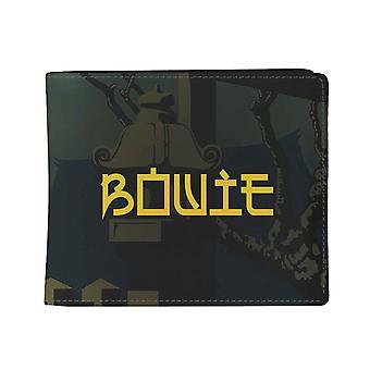David Bowie Wallet Japan Tour logo new Official Black Bifold