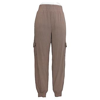 AnyBody Women's Pants Cozy Knit Jogger Beige A310169