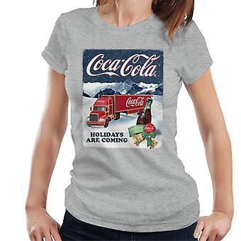 Coca Cola hyvä maku kaikille joulu kuorma naisten ' s T-paita