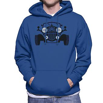 Citro?n Vintage Traction Sketch Men's Hooded Sweatshirt