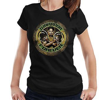 Bewundern Sie Black Panther Nakia Wakanda Forever Damen T-Shirt
