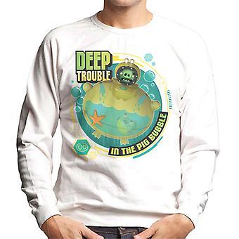 Angry Birds Deep Trouble Men's Sweatshirt