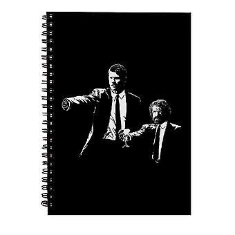 Spill av troner Lannister Banksy Pulp Fiction Spiral Notebook