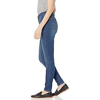 Marke - Daily Ritual Women's High-Rise Skinny Jean-Washed Indigo, 30 R...