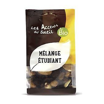 Opiskelija mix (sultanas, cashew, mantelit, hasselpähkinät, kuoritut mantelit, Amazon pähkinät) 125 g