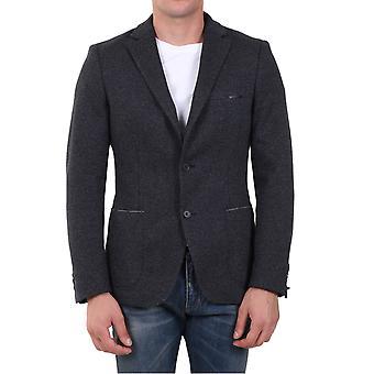 Tonello 06g711y7224u990 Men's Grey Cotton Blazer