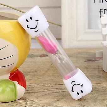 Children Smiling Face Hourglass Toothbrush Timer