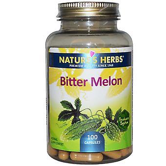 Nature's Herbs, Bitter Melon, 100 Capsules