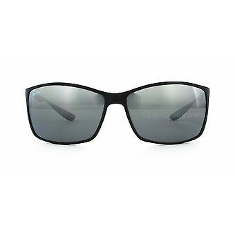 Ray-Ban Liteforce RB4179 601S/82 Matt Svart/Grå Spegel Silver Polariserade solglasögon