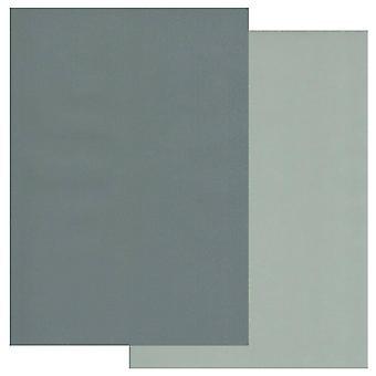 Groovi Perkament Papier A4 Twee Tonen Pine Naalden-Sage Groen