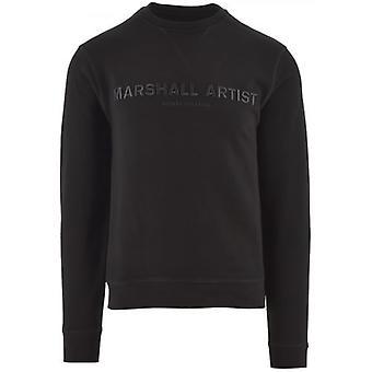 Marshall Artist Black Non Ath Crew Neck Sweatshirt