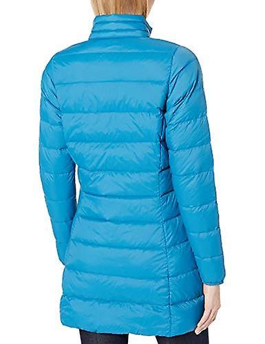 Essentials Women's Lightweight Water-Resistant Packable Down Coat, Tea...
