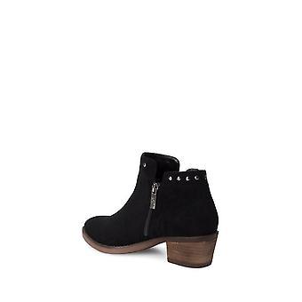 Xti - Shoes - Ankle boots - 49473_BLACK - ladies - black,sienna - EU 39