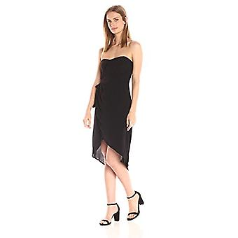 ASTR the label Women's Josefine Dress, Black, Large