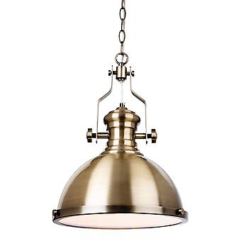 firstlight albion - 1 lys dome tak anheng antikk messing, E27