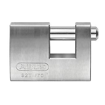 ABUS 82TI/70mm TITALIUM Suljin lukko carded ABU82TI70C