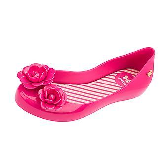 Girls Zaxy Ballerina Slip On Shoes / Ballet Flats - Pink