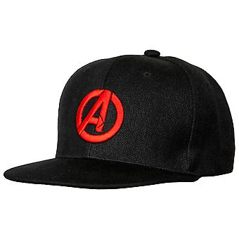Marvel Avengers Logo Flatbill Snapback Hat