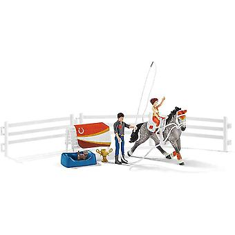 Schleich horse club Mia's vaulting play set for children over 3 years old