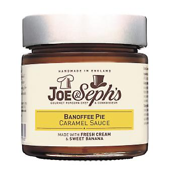 Banoffee pie karamelová omáčka