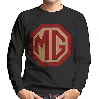 MG Red and Gold Logo British Motor Heritage Men's Moletom