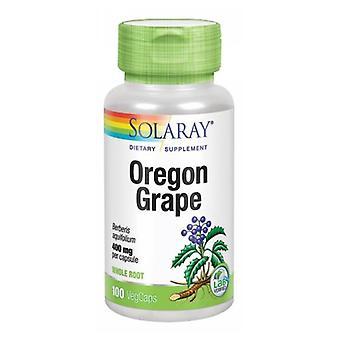 Solaray Oregon Uva, 400 mg, 100 Tappi