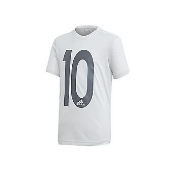 Adidas JR Messi Icon DV1320 football  boy t-shirt