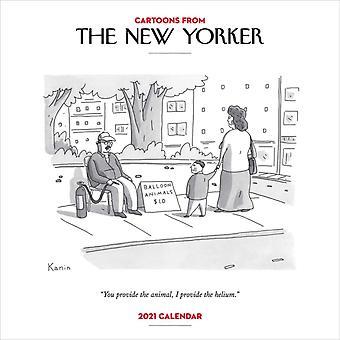 Sarjakuvat The New Yorker 2021 Wall Calendar -sarjakuvista, kirjoittanut Conde Nast