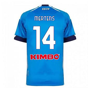 2020-2021 Napoli Home Shirt (MERTENS 14)