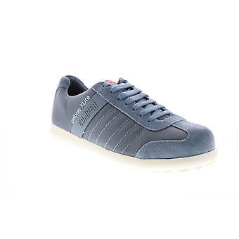 Camper Pelotas XL  Mens Blue Canvas Leather Euro Sneakers Shoes